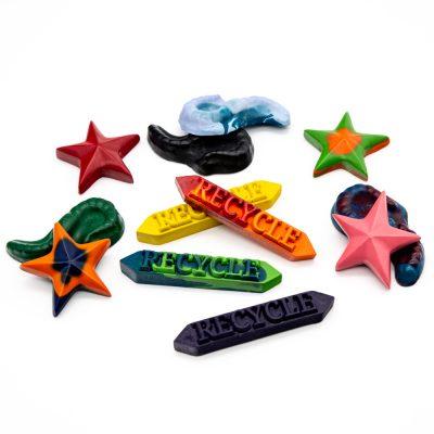 Individual Recycled Crayons