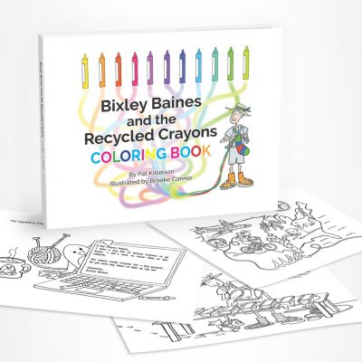 Bixley Baines and the Recycled Crayons Coloring Book